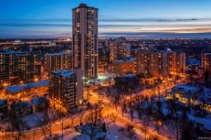 One of the Best Condo Buildings in Winnipeg – 55 NASSAU – 20th Floor with Breathtaking Views! – Extensive Renos – Underground Parking