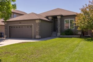 RIVER GROVE/McBETH LANDING – Desirable Sector is home to this Custom Built 3+2 Bdrm – 3 Bath Bungalow – Finished Lower Level – Sound, extraordinary Construction