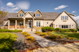 Magnificence in East St Paul – Exceptional & Unique – Architectural Marvel – Geothermal Heating/Cooling – Custom 5 Bdrm 3.5 Bath Two Storey – 2.33 Acres – Triple Garage & Ultra-Shop!