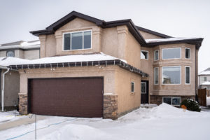 Sensational Sage Creek Family Home! Unique Bi-Level Cabover features 4 BDRMS, 3.5 BATHS, Super REC RM, Deluxe DECK & More!